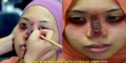 sfx-stapler-on-nose-kesan-khas-makeup
